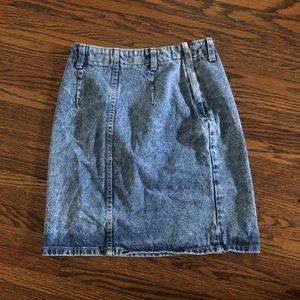 Dresses & Skirts - Vintage Denim Mini Skirt